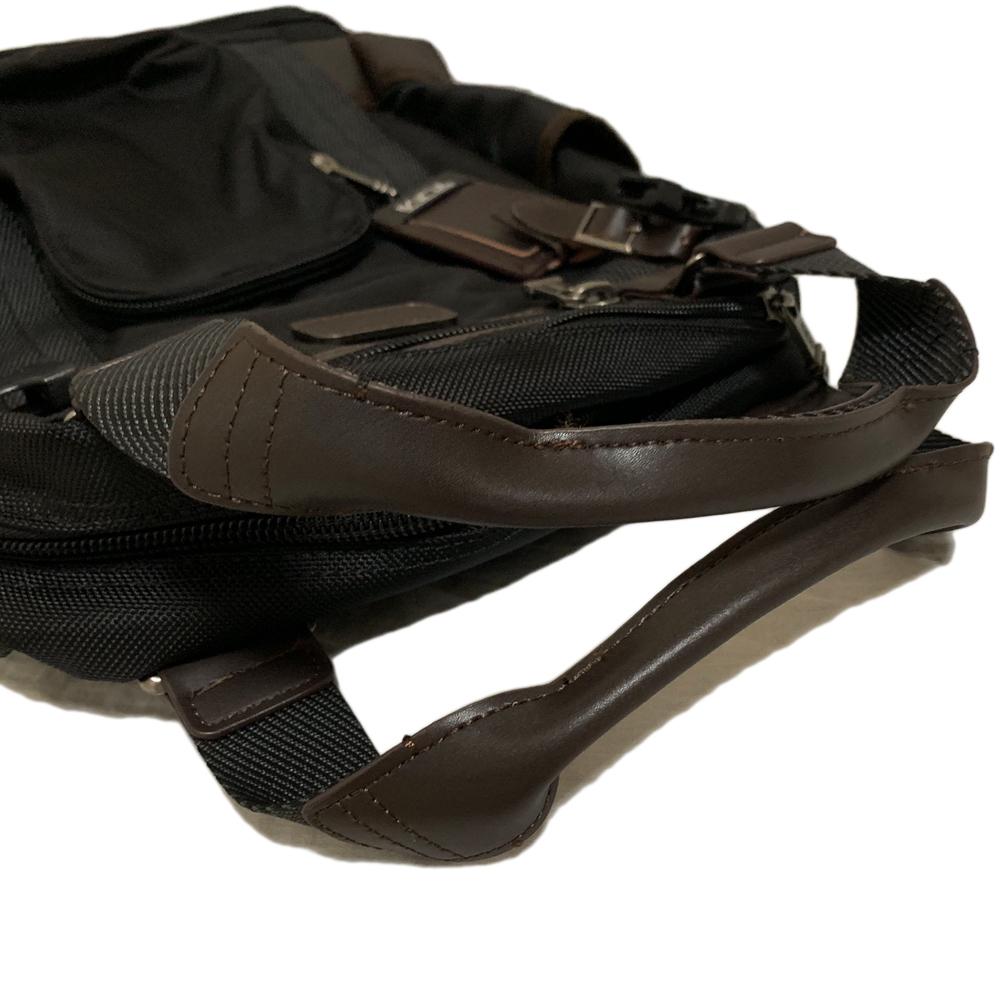 試着程度 TUMI【222380 HK2】アルファ 2WAY バックパック リュック トートバッグ ALPHA BRAVO LEJEUNE BACKPACK 黒 トゥミ_画像9