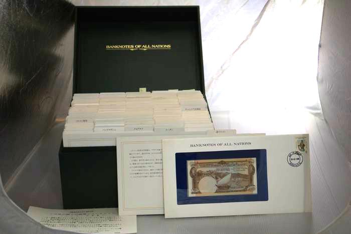 150か国分のピン札紙幣が揃っています☆
