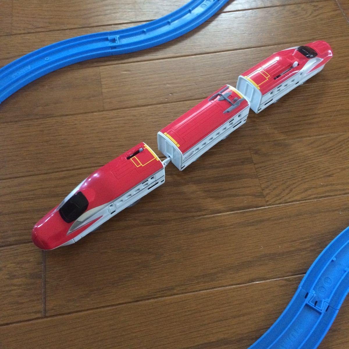 [中古]タカラトミー/E5系新幹線とE6系新幹線セット_画像2