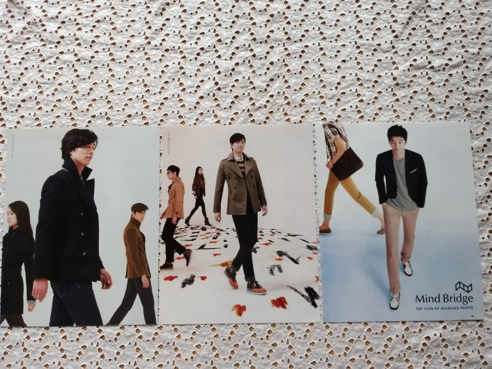 Mind Bridge THE ICON OF WORKING PEOPLE外◆コン・ユ◆Gong Yoo◆韓国 雜誌 3枚。_画像2