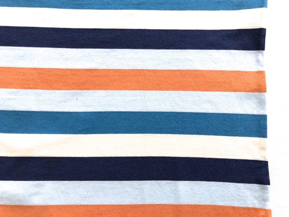 ノースフェイス NT32129 マルチカラー ボーダー柄 半袖Tシャツ メンズ Mサイズ THE NORTH FACE_画像7