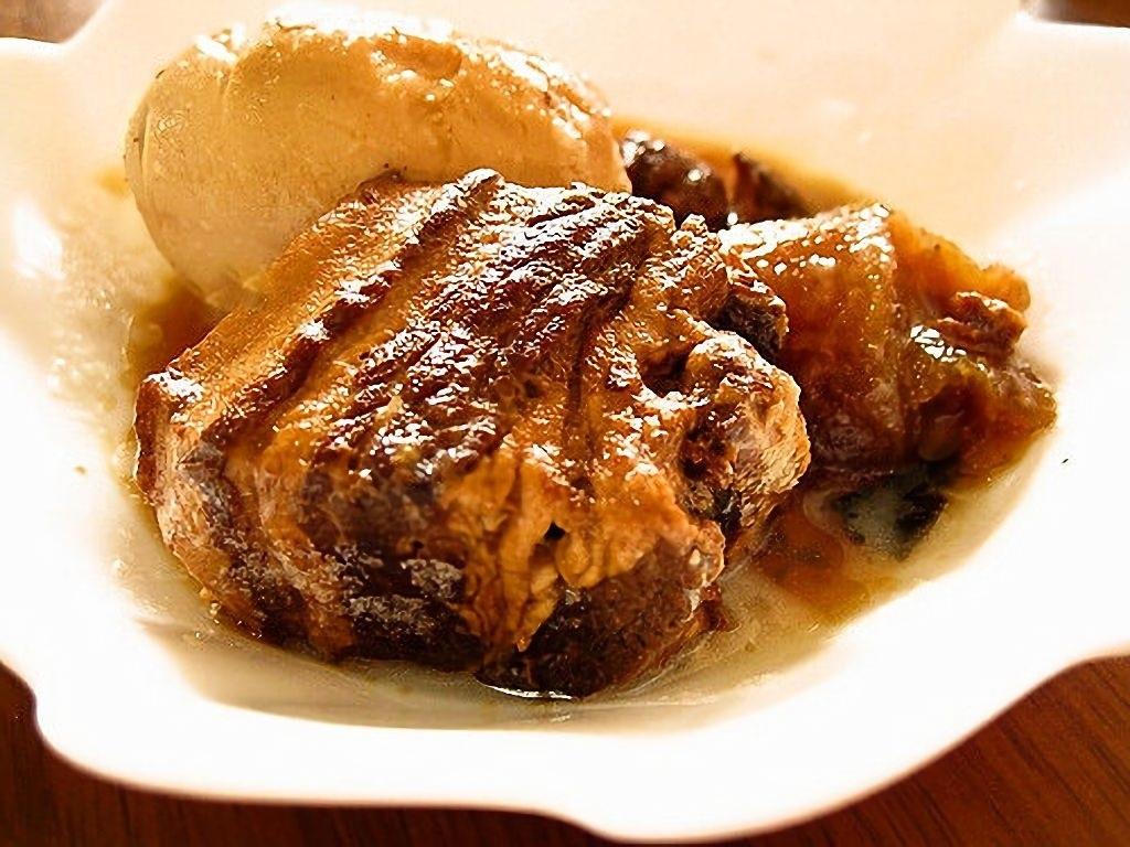 ★【惣】豚角煮 約0.75~0.9kg×2本入り\2465/pc (キロ1643円) カナダ産豚バラ肉使用 不定款 トロトロとろける美味しさ柔らかい