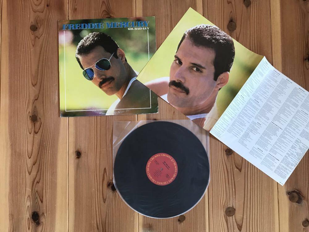 洋楽 ハードロック レコード 豪華 まとめて 20枚 セット / Freddie Mercury BAD COMPANY Thin Lizzy ZZTop GARY MOORE(楽譜付)他_画像4