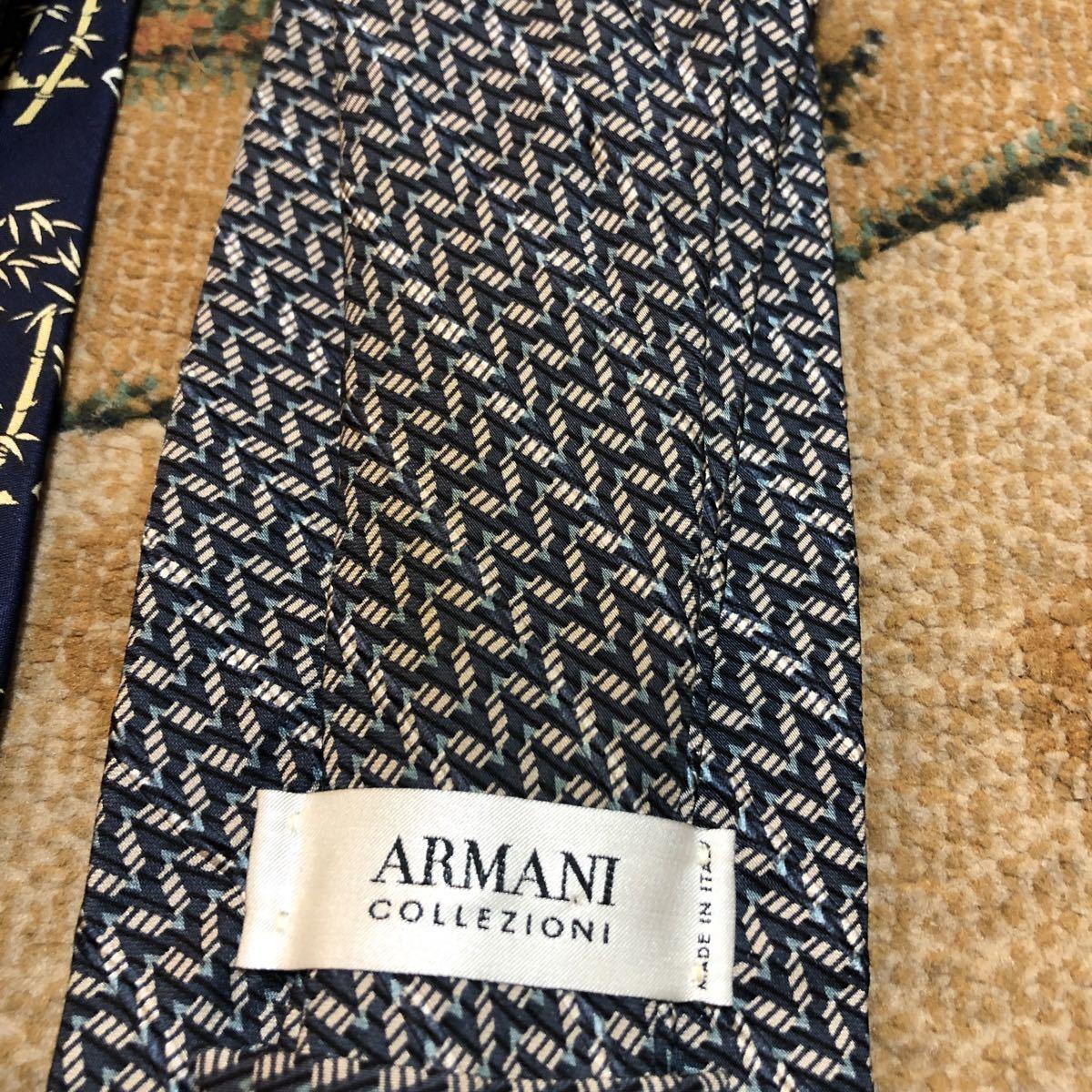 huge discount da49c b37d4 ARMANI アルマーニ ネクタイ 3本セット ジョルジオ エンポリオ パンダ