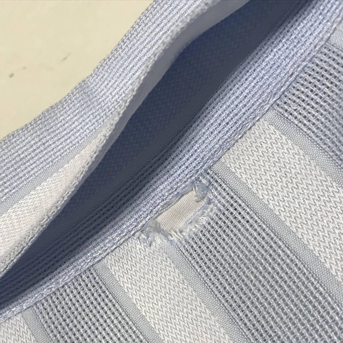 ★Gianni Versace/ヴェルサーチ★メンズ ストライプ柄 長袖 シャツ レギュラーカラー ブロード 水色 ライトブルー ドレスシャツ ワイシャツ_画像6