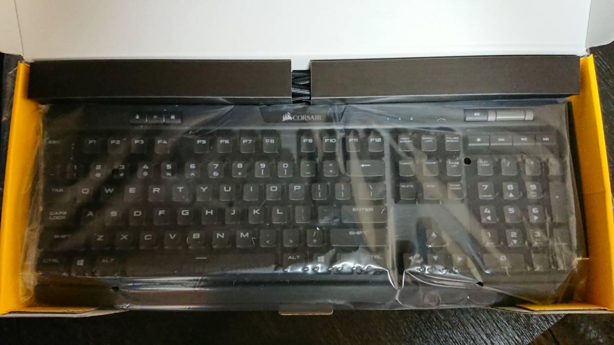 CORSAIR K70 RGB MK.2 Cherry MX Brown - RGB LED Backlit 英語配列 新品同様_画像2