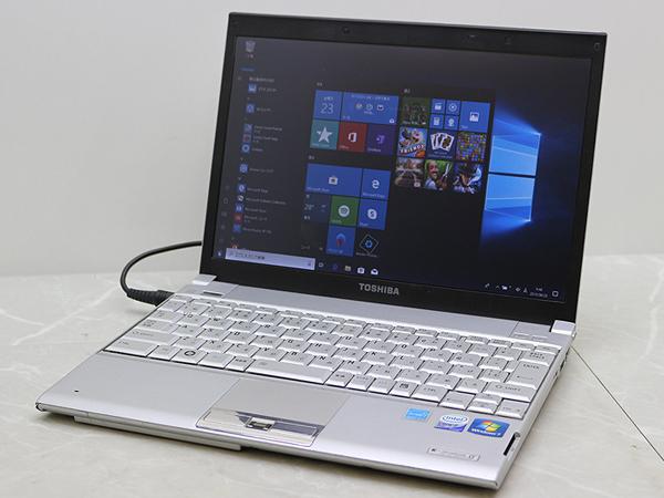 ◎ジャンク扱◎Windows10Proアップグレード済12.1ワイドノート◎Core2Duo U7500/1.5GB/80GB◎dynabook SS RX1
