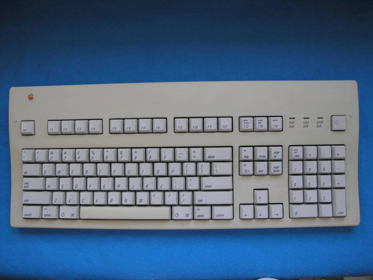 ★ Apple Extended Keyboard II (M3501)・アップル拡張キーボード・動作チェック済み完動美品・コレクターズアイテム_画像7