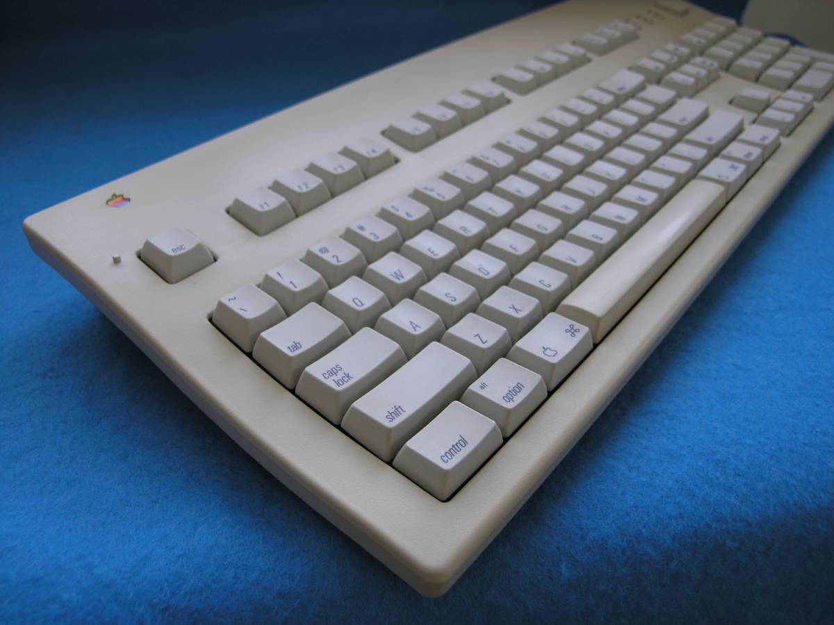 ★ Apple Extended Keyboard II (M3501)・アップル拡張キーボード・動作チェック済み完動美品・コレクターズアイテム_画像1
