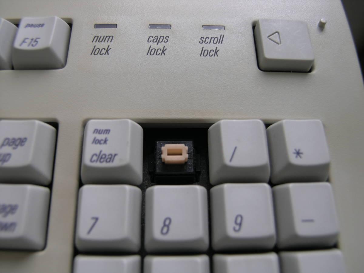 ★ Apple Extended Keyboard II (M3501)・アップル拡張キーボード・動作チェック済み完動美品・コレクターズアイテム_レスポンスに定評のあるオレンジ軸