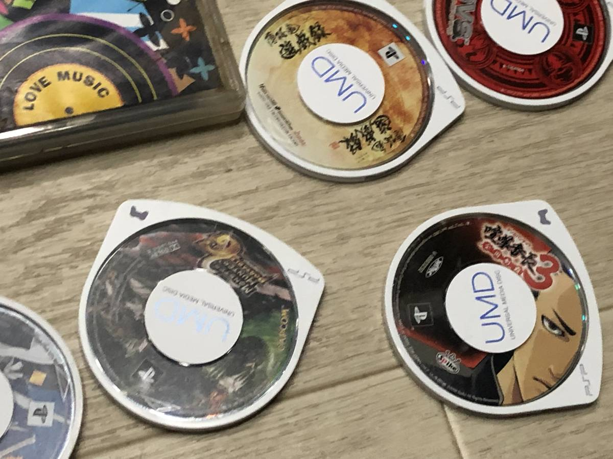Lot of 68 SONY PSP games FF Gundam etc. Sony PSP ゲームソフト 英雄伝説 FF 他 video games 68本 まとめて_画像10