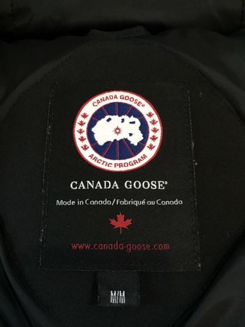 良好 国内正規品◆CANADA GOOSE カナダ グース◆ 3438JM ジャスパー ダウンジャケット /M / ブラック/ メンズ_画像6