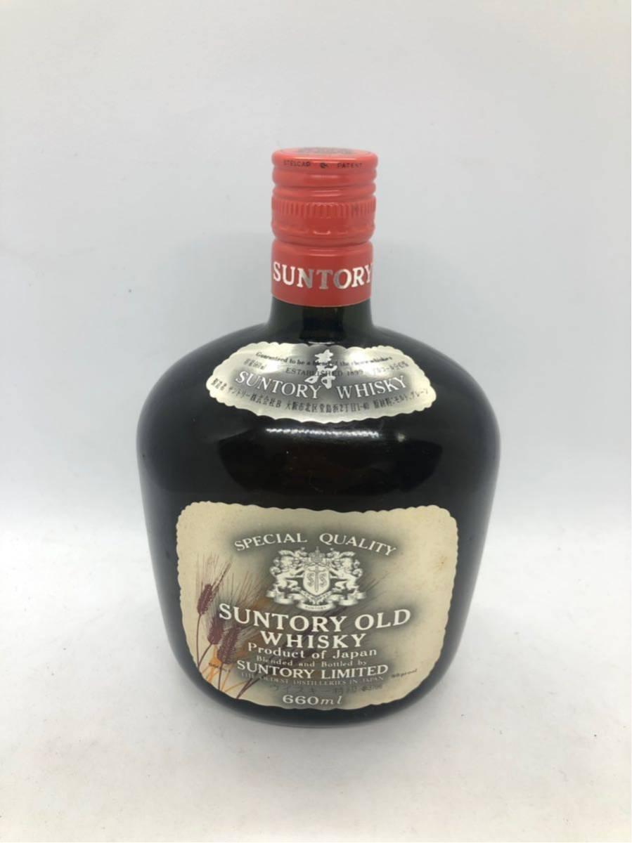 1908#### SUNTORY OLD WHISKY サントリー ウイスキー 洋酒 古酒 660ml 43度 未開栓