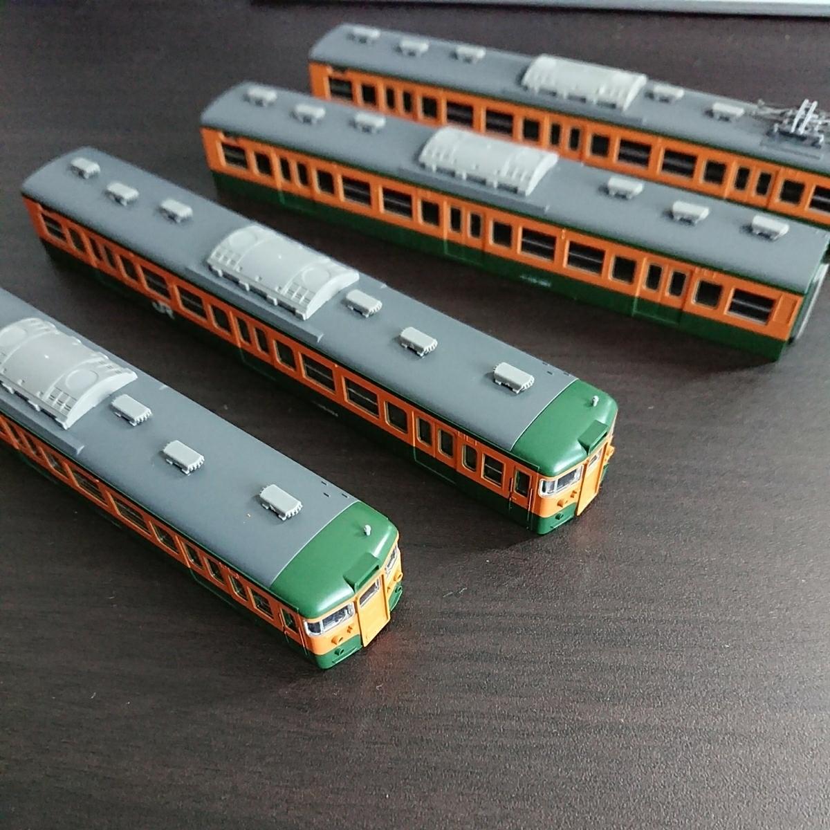 ★tomix(トミックス)92839 115系近郊電車(湘南色)4両編成ボディのみ_画像2