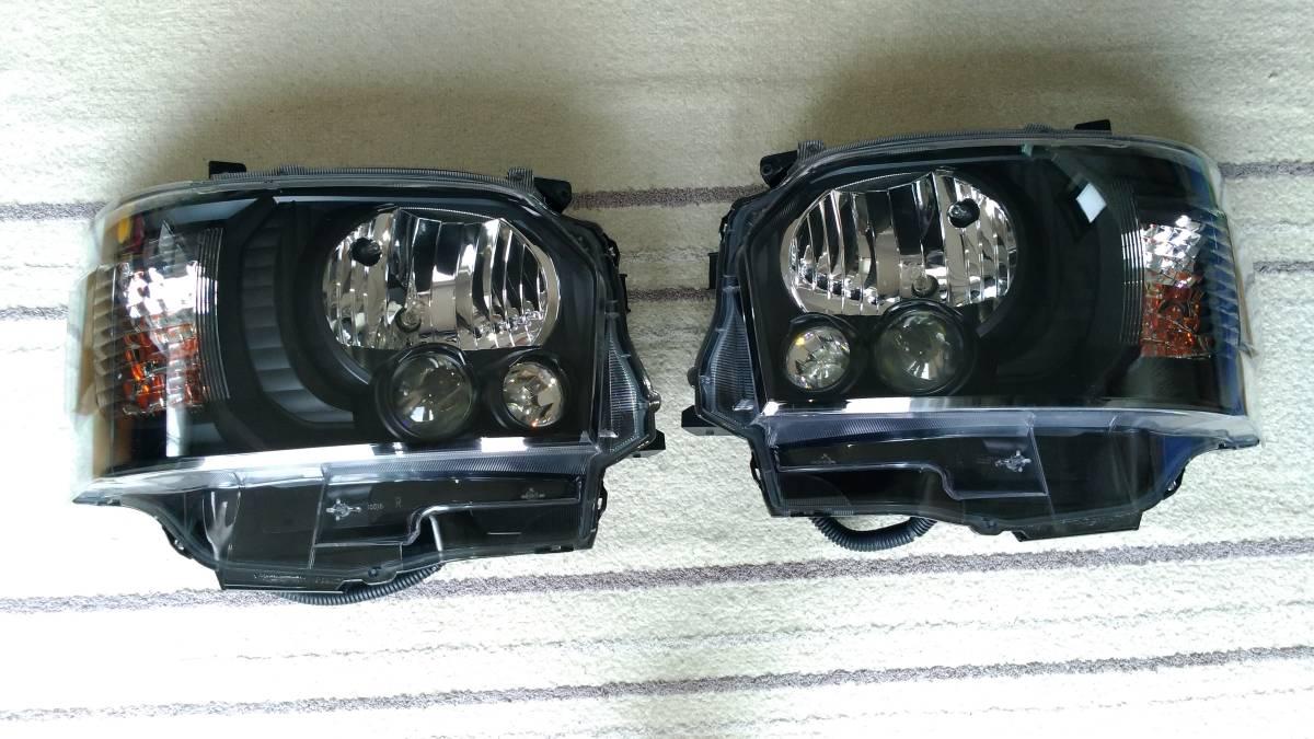 4型ヘッドライトインナーブラック