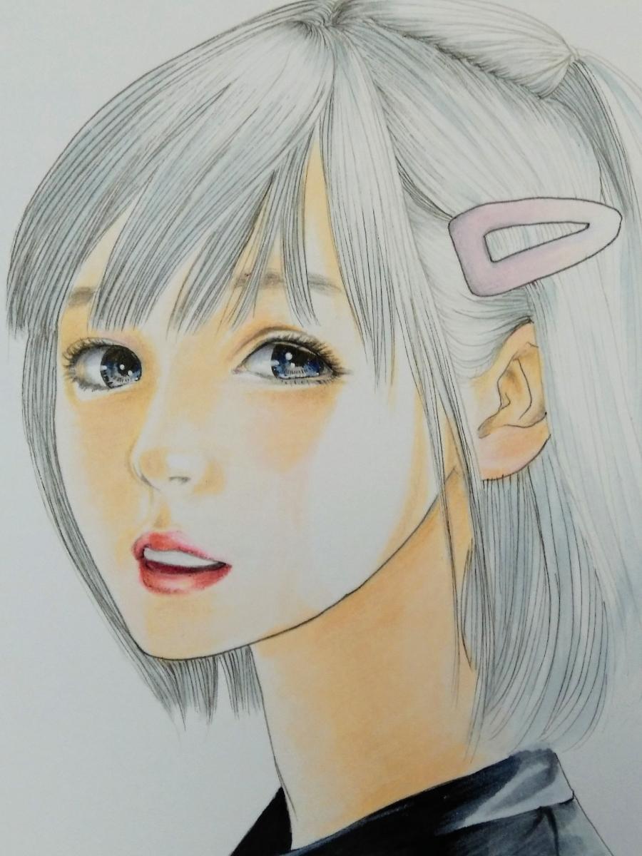 手描きイラスト 「夏の終わり」