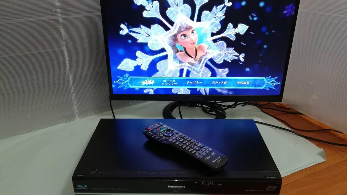 【中古】Panasonic CATV ブルーレイレコーダー TZ-BDT910P 2番組同時録画・BCASカード付 HDD500GB⇒2TB換装済_画像2