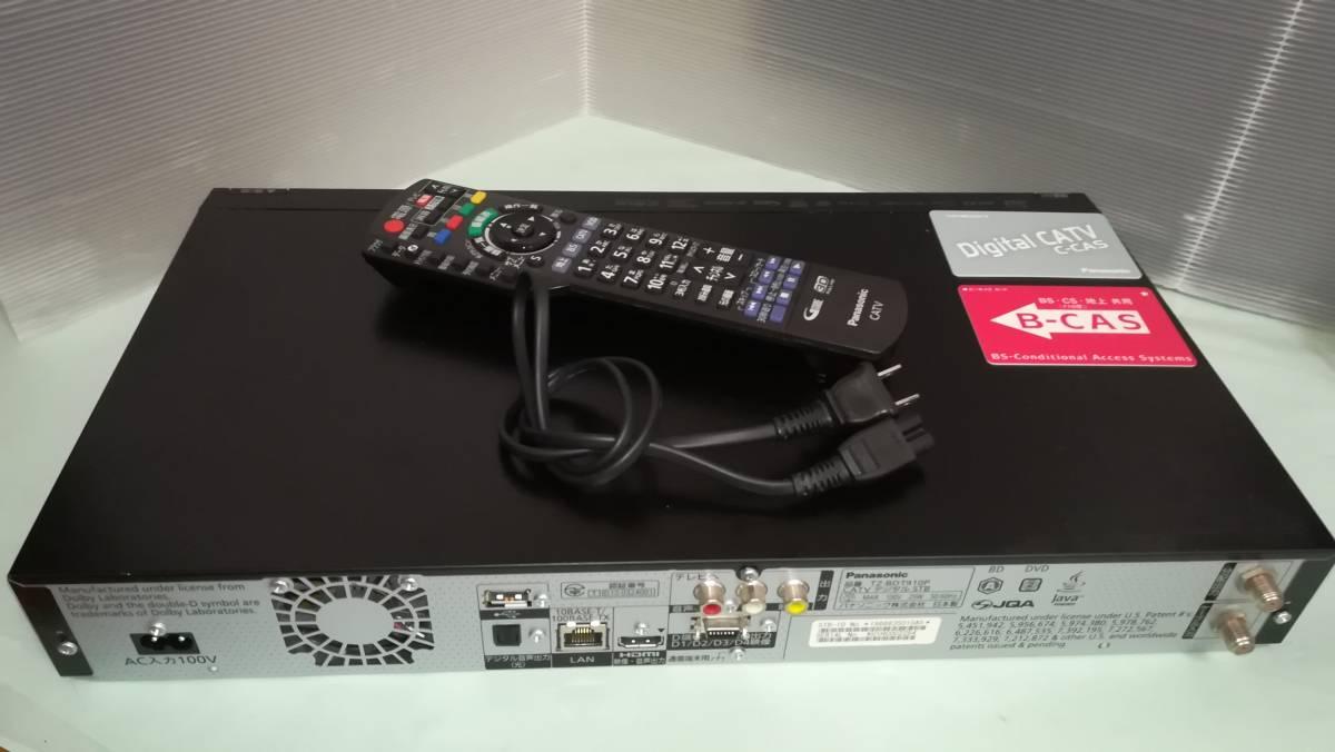 【中古】Panasonic CATV ブルーレイレコーダー TZ-BDT910P 2番組同時録画・BCASカード付 HDD500GB⇒2TB換装済_画像8