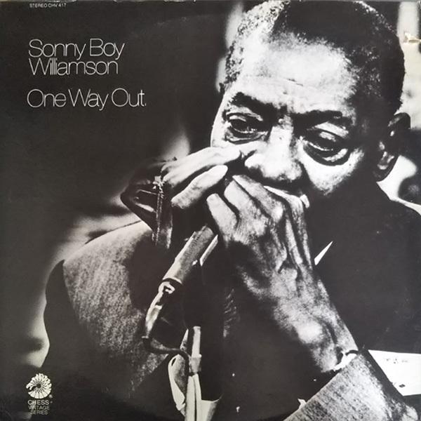 輸入盤(U.S)LP Sonny Boy Williamson One Way Out USA ワン・ウェイ・アウト サニー・ボーイ・ウィリアムスン