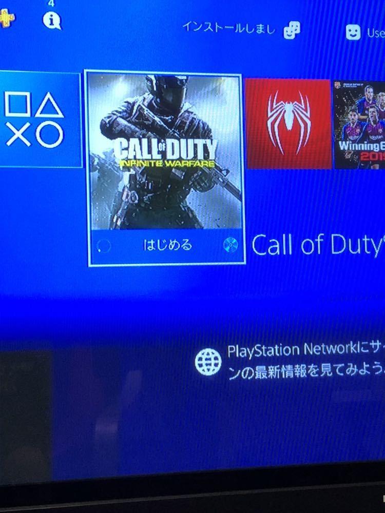 1円~★SONY PS4 Pro 本体 CUH-7000B (1TB) ジェットブラック 動作良好 ソニープレステ4 PlayStation4 PS4本体 _画像4