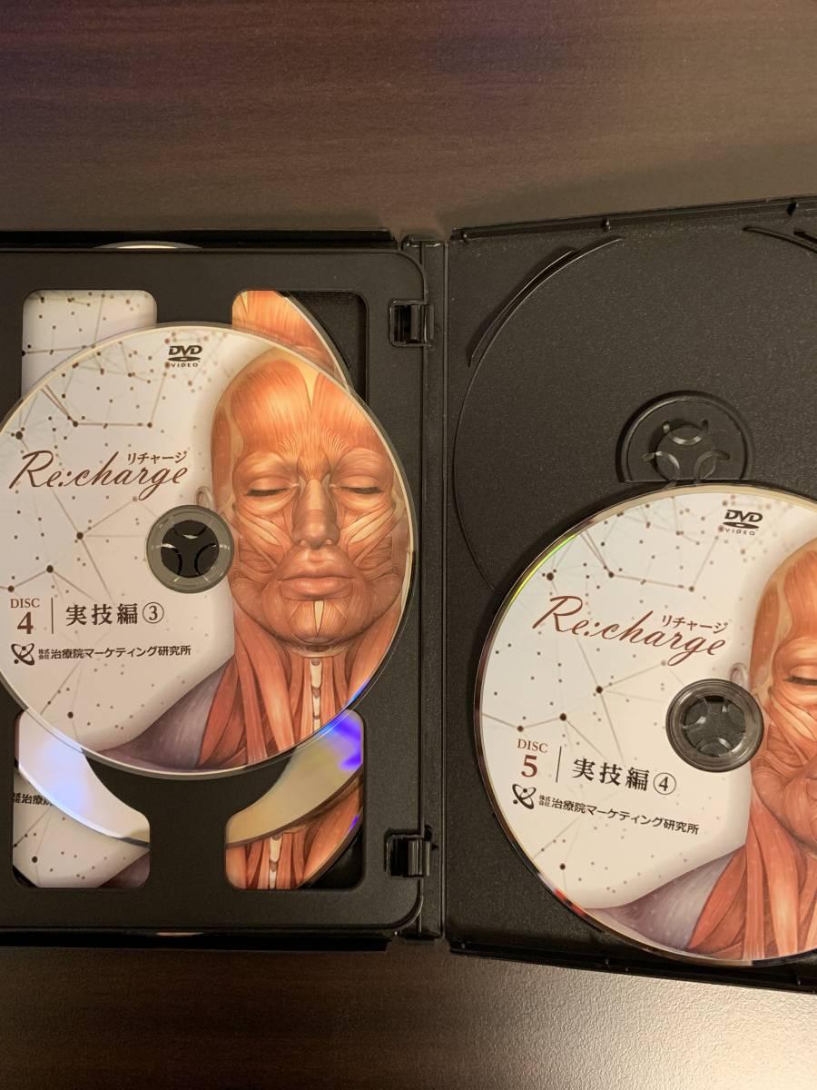 田中裕樹 「Re:charge」 究極の小顔メソッド DVD5枚組+特典DVD2枚_画像3
