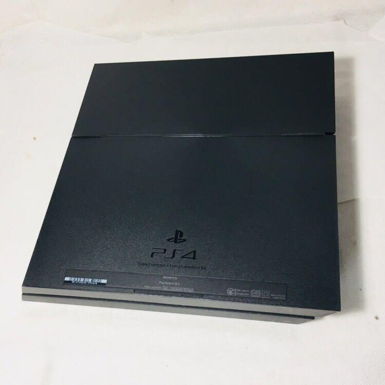 ⑤ 箱付き 美品 PS4 FW6.51 ブラック CUH 1000 A 本体 HDD 500GB 動作良好 封印シール あり SONY ソフト 読込確認済 プレステ4 説明書_画像3