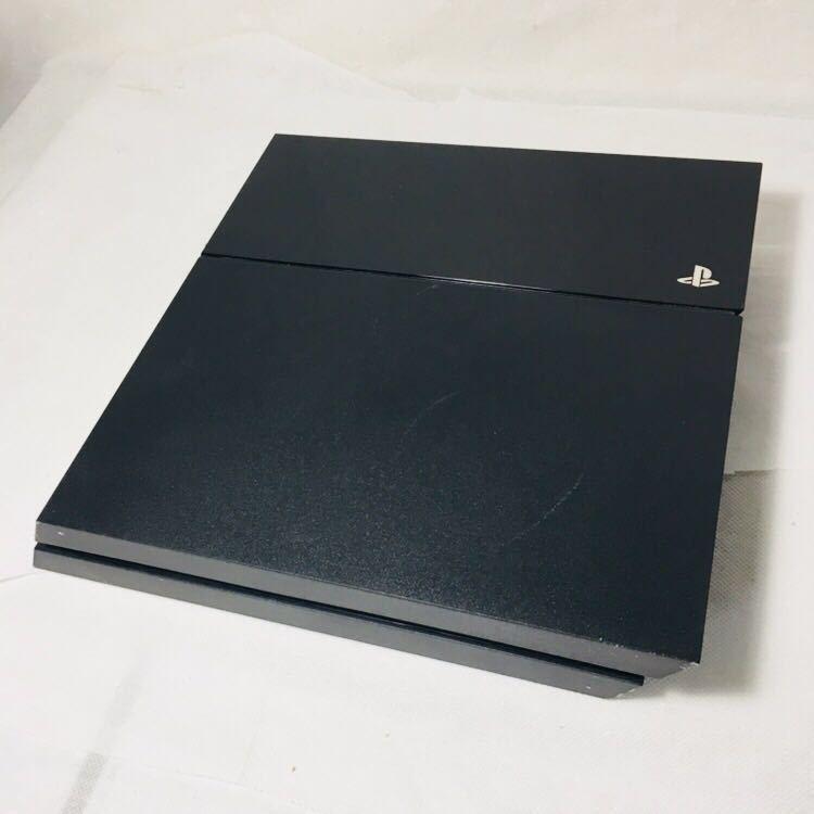 ⑤ 箱付き 美品 PS4 FW6.51 ブラック CUH 1000 A 本体 HDD 500GB 動作良好 封印シール あり SONY ソフト 読込確認済 プレステ4 説明書_画像2