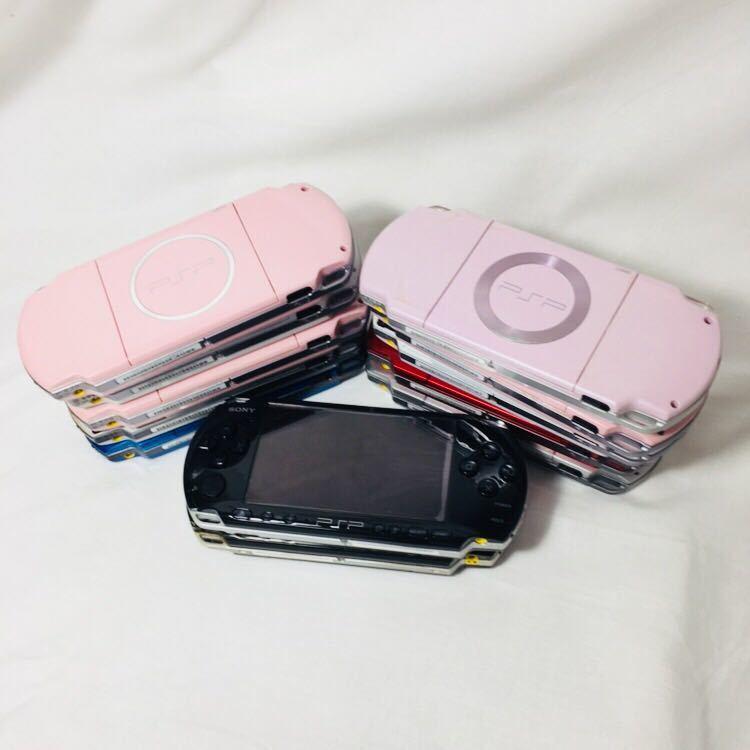ジャンク PSP-3000 本体 セット 12台 PSP本体 PSP SONY プレイステーションポータブル ソニー 3000 2000 1000 まとめ 大量 ゲーム機本体_画像9