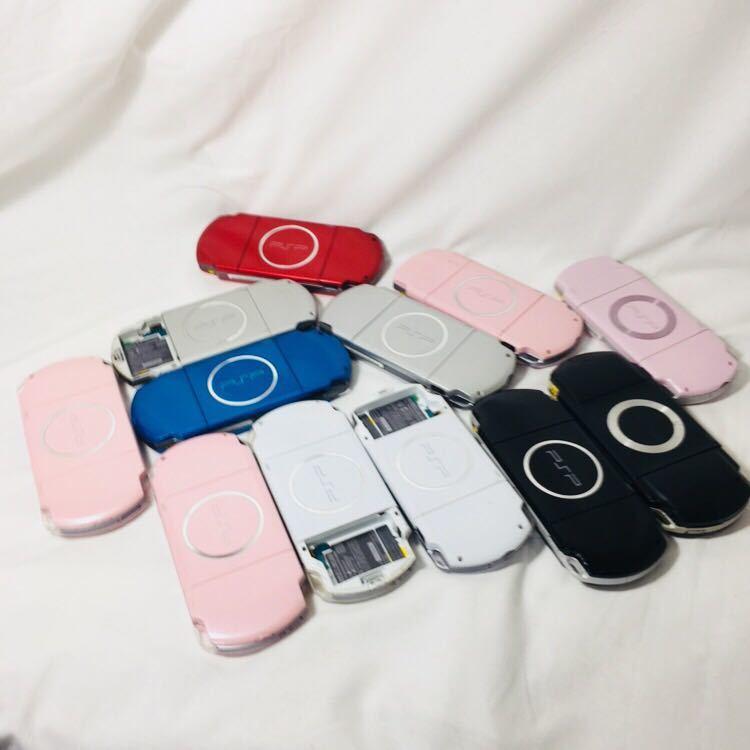 ジャンク PSP-3000 本体 セット 12台 PSP本体 PSP SONY プレイステーションポータブル ソニー 3000 2000 1000 まとめ 大量 ゲーム機本体_画像10
