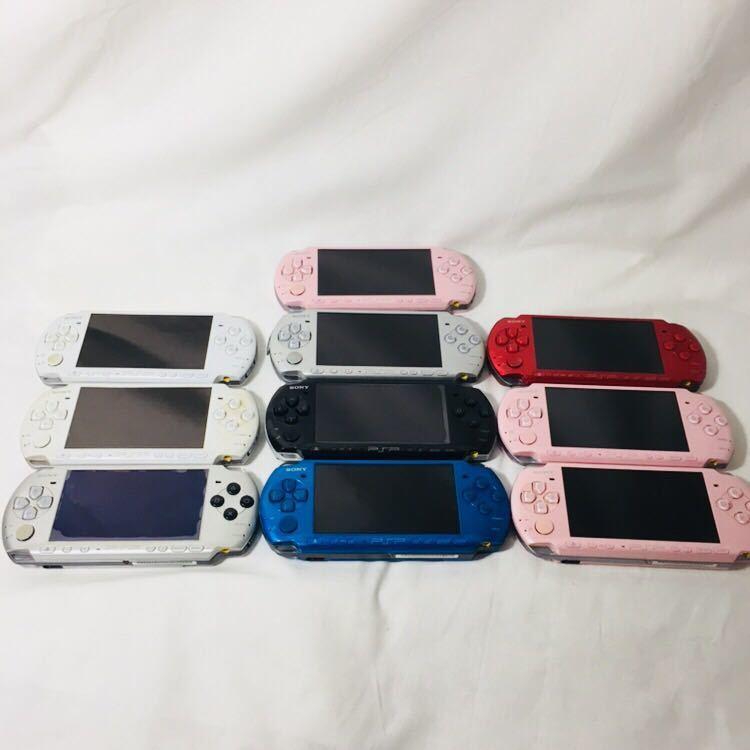 ジャンク PSP-3000 本体 セット 12台 PSP本体 PSP SONY プレイステーションポータブル ソニー 3000 2000 1000 まとめ 大量 ゲーム機本体_画像2
