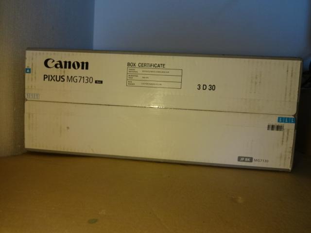 【未使用】Canon キャノン インクジェットプリンター MG7130 ブラック_画像6