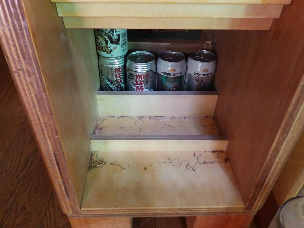 酒缶除き化粧砂利を階段状に敷くと音締まる