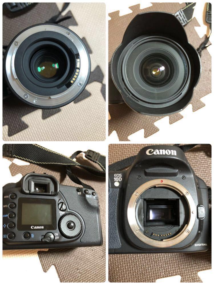 Canon キャノン デジタル一眼レフカメラ EOS 10D DIGITAL DS6031 TAMRON 20-40mm 1:2.7-3.5 動作未確認_画像3