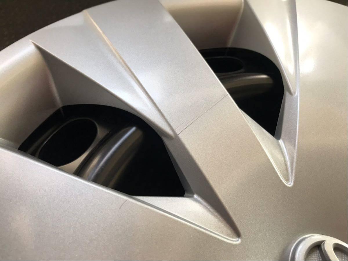 ★新車外し★トヨタカローラフィルダー(DAA-NKE165G)純正ホイールキャップ付スチールホイール鉄チン4本5J×15インチPCD100×4H_画像5