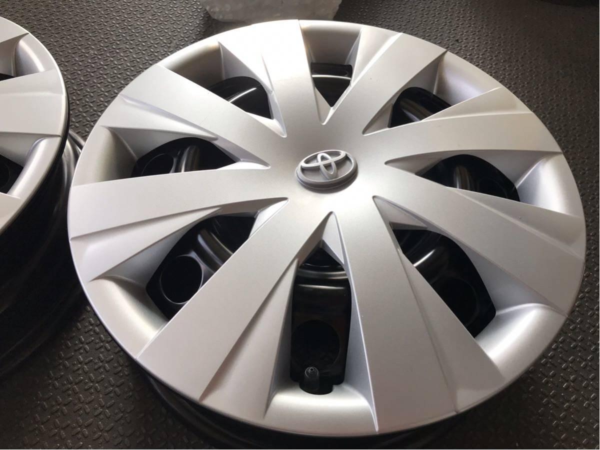 ★新車外し★トヨタカローラフィルダー(DAA-NKE165G)純正ホイールキャップ付スチールホイール鉄チン4本5J×15インチPCD100×4H_画像4