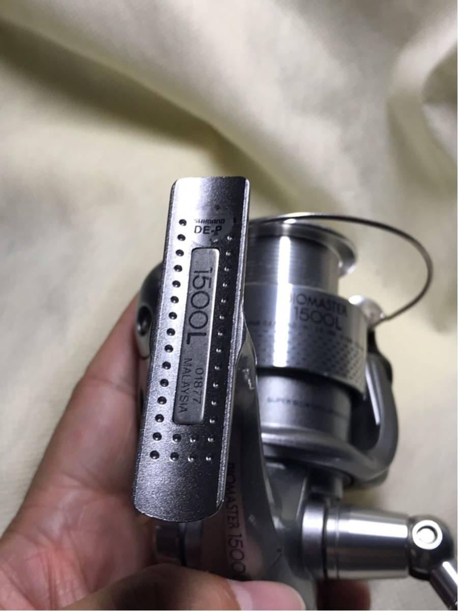 希少 シマノ SHIMANO バイオマスター BIOMASTER 1500L リヤドラグ 美品!_画像6