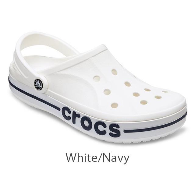 クロックス crocs バヤバンド クロッグ Bayaband Clog White / Navy M13(31cm) 新品_画像1