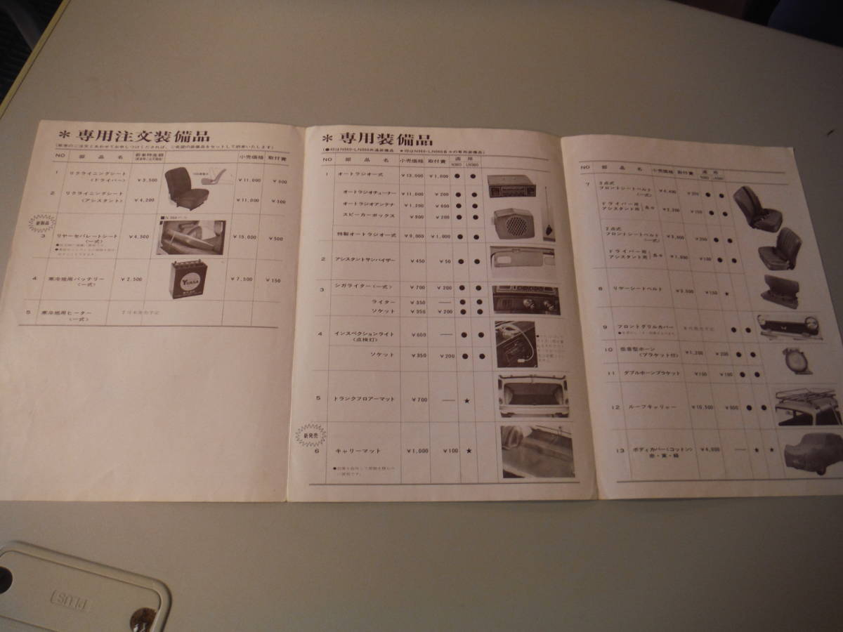 旧車◆HONDA ホンダ N360 LN360◆当時物・古いカタログ ⑮_画像2