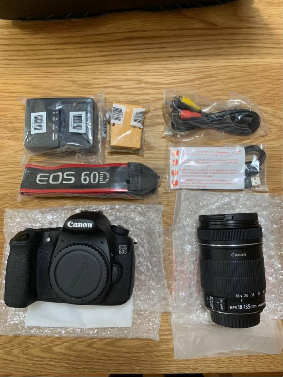 Canon デジタル一眼レフカメラ EOS 60D レンズキット EF-S18-135mm F3.5-5.6 IS 付属 EOS60D18135ISLK_画像2