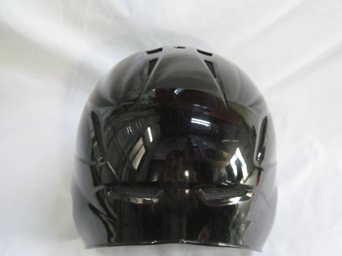 374 打者用ヘルメット 黒 Mサイズ サンプル品_画像4