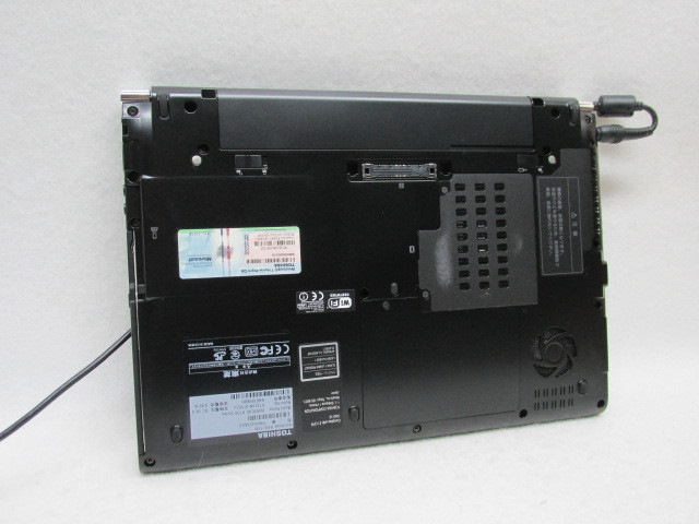 1円~☆Toshiba dynabook RX3/T6M i3 Win10 2G 250GマルチOffice2016無線(Wi-Fi) 充電残量表示:4時間59分_画像6