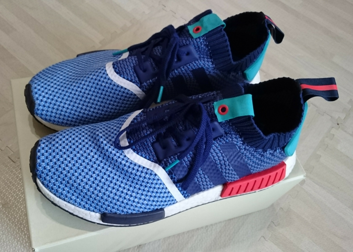 adidas NMD R1 PK Packers US11.5 29.5cm 美中古_画像1