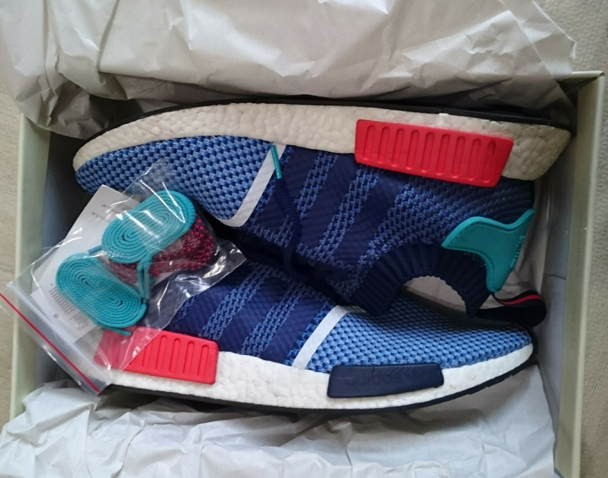 adidas NMD R1 PK Packers US11.5 29.5cm 美中古_画像2