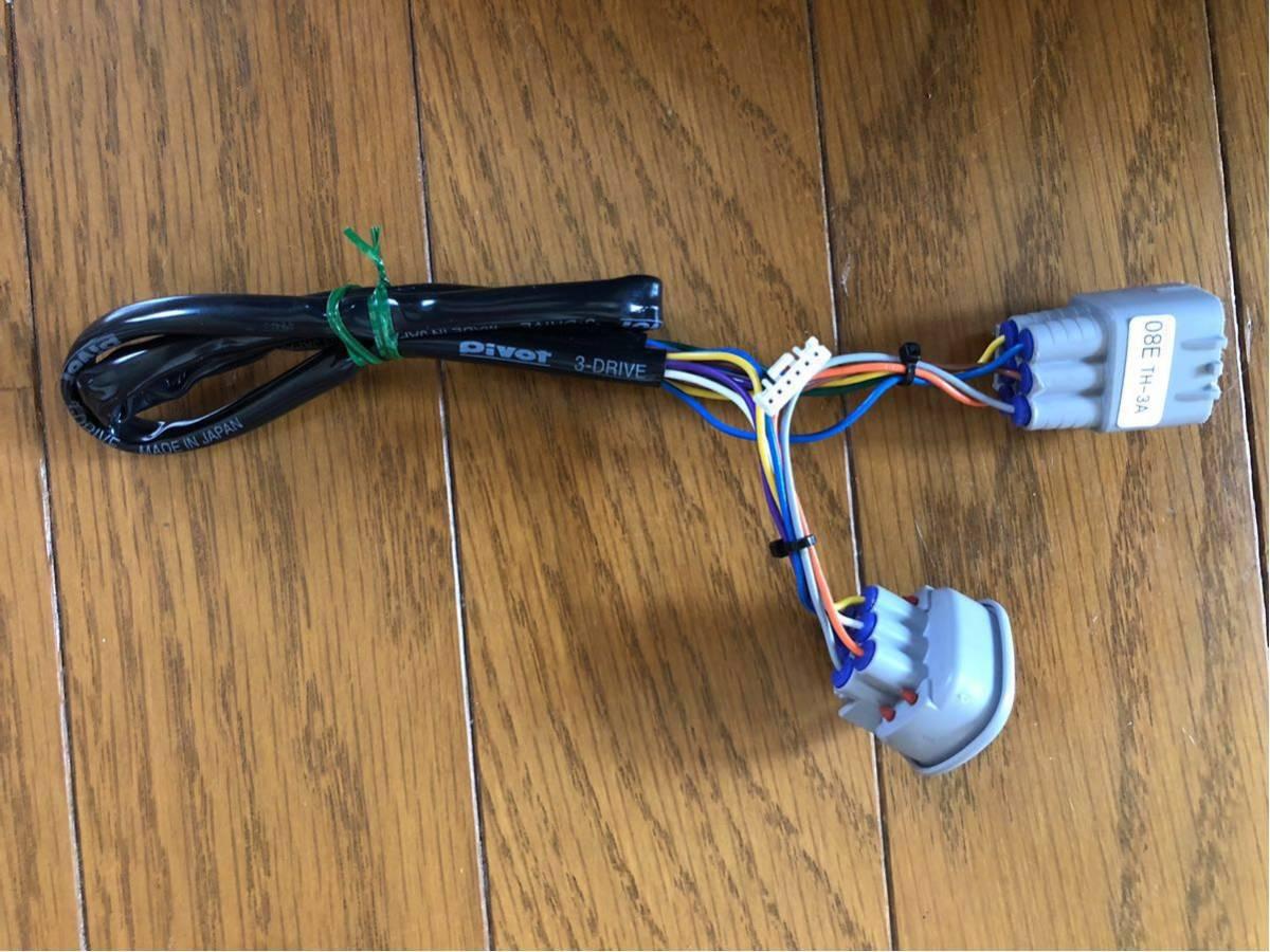 PIVOT(ピボット)スロコン 3-drive・α 3DA スロコン&クルコン E51エルグランド用ハーネス付き(TH-3A、BR-3)_画像7