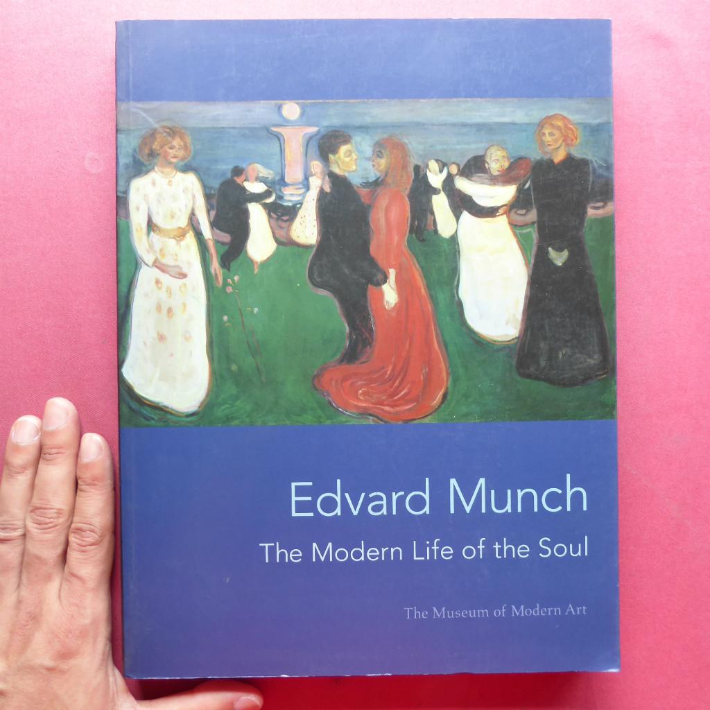 w12洋書図録【Edvard Munch: The Modern Life of the Soul/2006年・Museum of Modern Art】エドヴァルド・ムンク_画像1