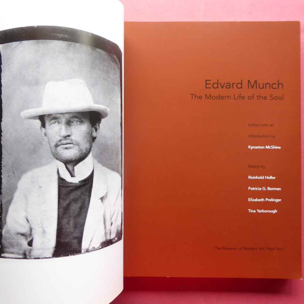 w12洋書図録【Edvard Munch: The Modern Life of the Soul/2006年・Museum of Modern Art】エドヴァルド・ムンク_画像3