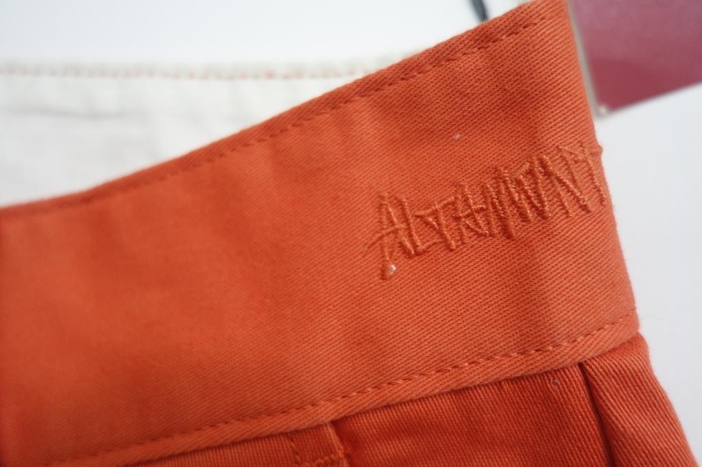 新品 16/17 ALTAMONT DAVIS SLIM SHORT メンズ32インチ チノパン スリムショートパンツ ハーフパンツ ORANGE #79_画像3