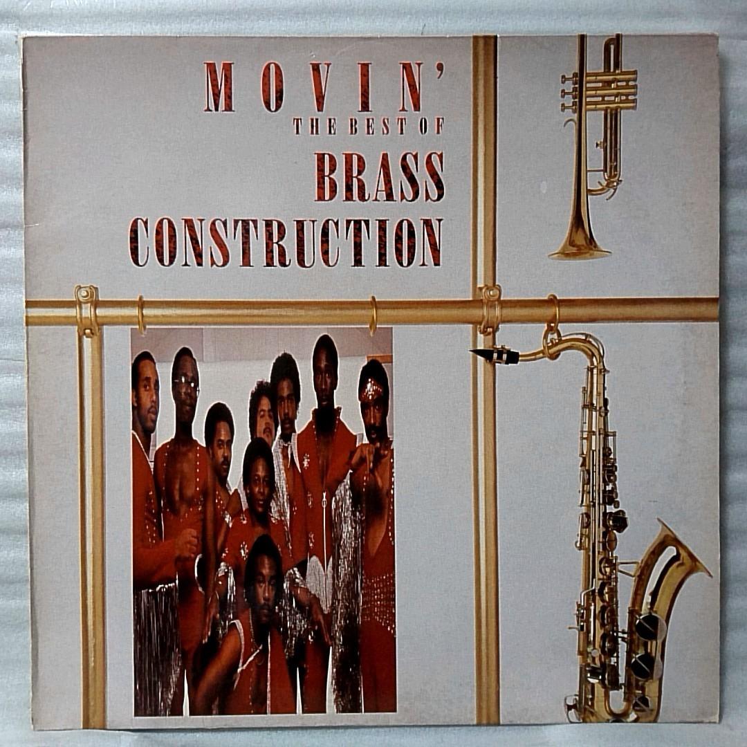 BRASS CONSTRUCTION MOVIN ベスト盤 ★ 1988年リリース UK盤 ★アナログ盤 [3158RP_画像1