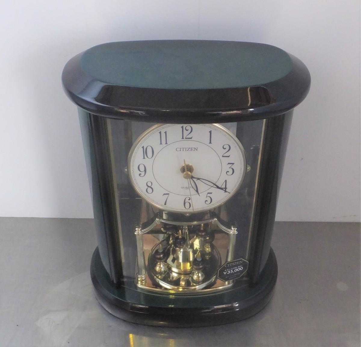 ●CITIZEN エレンシアR754 4SG754 置き時計(展示品)_画像2
