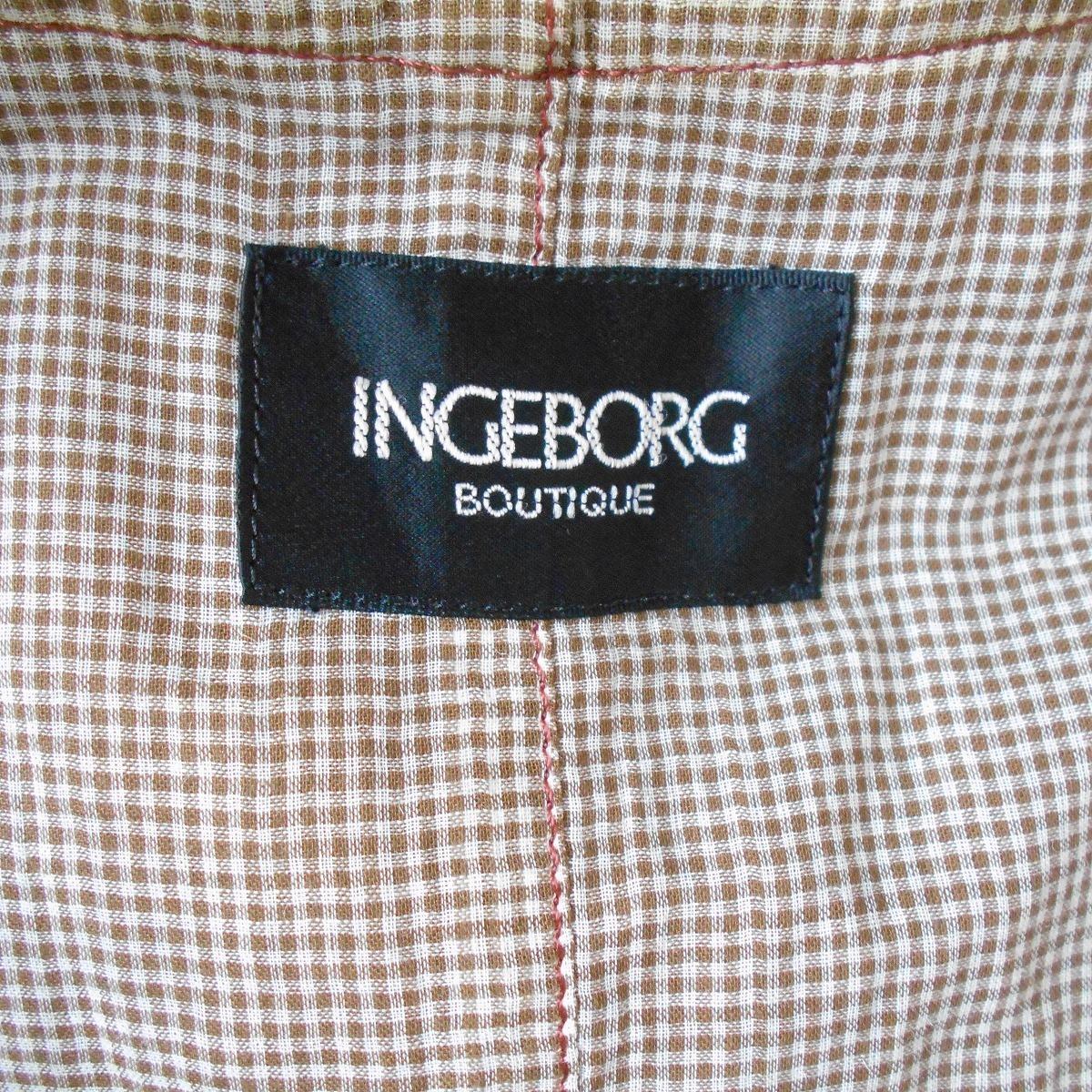 インゲボルグ INGEBORG 刺繍 入り チュール レース 使用 お洒落 な レディース 用 ベスト 日本製 11_画像8